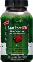 Irwin Naturals Beet Root RED Liquid Soft-Gels