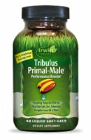 Irwin Naturals Tribulus Primal Male Performance Booster Liquid Softgels - 60 ct
