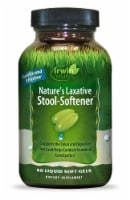 Irwin Naturals Nature's Laxative Stool-Softener Liquid Soft-Gels