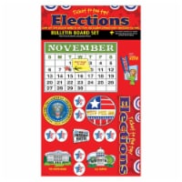 Ticket to the Top - Presidential Elections Bulletin Board Set
