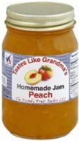The Family Fruit Basket Peach Jam - 18 oz