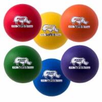 Champion Sports RHINO Skin Coated Softi Balls  - Set of 6