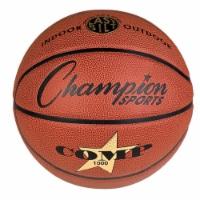 Champion Sports SB1000 29.5 in. Composite Basketballs, Orange