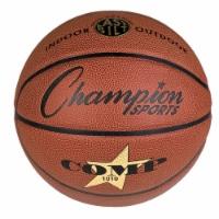 Champion Sports SB1010 28.5 in. Composite Basketballs, Orange
