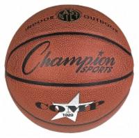 Champion Sports Basketball,Size 7,Composite Cover HAWA SB1020