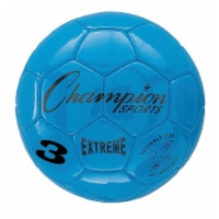 Champion Sports CHSEX3BL 3 Size Extreme Series Soccer Ball - Blue