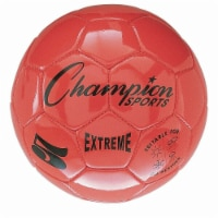 Champion Sports CHSEX3OR 3 Size Extreme Series Soccer Ball - orange - 1