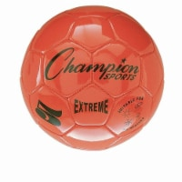 Champion Sports CHSEX5OR 5 Size Extreme Series Soccer Ball - orange - 1