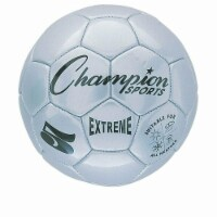 Champion Sports CHSEX5SL 5 Size Extreme Series Soccer Ball - Silver - 1