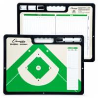 Champion Sports CBBAXL 16 x 12 x 1 in. Extra Large Baseball Coaches Board