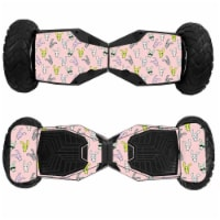 MightySkins SWT6-Bunny Bunches Skin for Swagtron T6 Off-Road Hoverboard - Bunny Bunches - 1