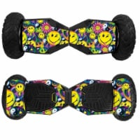 MightySkins SWT6-Peace Smile Skin for Swagtron T6 Off-Road Hoverboard - Peace Smile