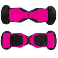 MightySkins SWT6-Solid Hot Pink Skin for Swagtron T6 Off-Road Hoverboard - Solid Hot Pink