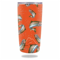 MightySkins OZTUM20-Trout Collage Skin for Ozark Trail 20 oz Tumbler 2016 - Trout Collage