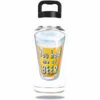 MightySkins OZBOT36-Beer Lover Skin for Ozark Trail 36 oz Water Bottle - Beer Lover