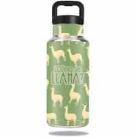 MightySkins OZBOT36-Llama Skin for Ozark Trail 36 oz Water Bottle - Llama
