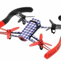 MightySkins PABEBOP-Blue Houndstooth Skin for Parrot Bebop Quadcopter Drone - Blue Houndstoot - 1