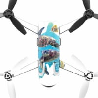 MightySkins PABEBOP2-Turtly Cool Skin Decal Wrap for Parrot Bebop 2 - Turtly Cool - 1