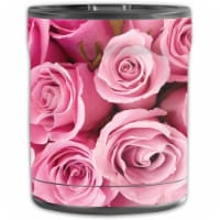 MightySkins OTEL10-Pink Roses Skin for Otterbox Elevation Tumbler 10 oz - Pink Roses