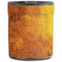 MightySkins OTEL10-Textured Gold Skin for Otterbox Elevation Tumbler 10 oz - Textured Gold - 1