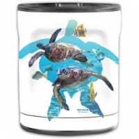MightySkins OTEL10-Turtly Cool Skin for Otterbox Elevation Tumbler 10 oz - Turtly Cool - 1