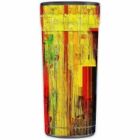 MightySkins OTEL20-Painted Wood Skin for Otterbox Elevation Tumbler 20 oz - Painted Wood - 1