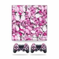 MightySkins PS3SLIM-Butterflies Skin for Sony Playstation 3 PS3 Slim Plus 2 Controllers - But - 1