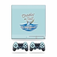 MightySkins PS3SLIM-Chasin Tail Skin for Sony Playstation 3 PS3 Slim Plus 2 Controllers - Cha