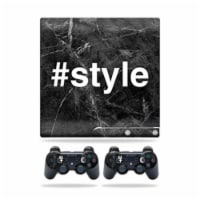 MightySkins PS3SLIM-Style Skin for Sony Playstation 3 PS3 Slim Plus 2 Controllers - Style