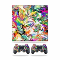 MightySkins PS3SLIM-Wet Paint Skin for Sony Playstation 3 PS3 Slim Plus 2 Controllers - Wet P