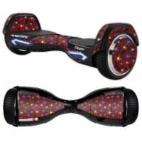 MightySkins RAHOV2-Diamond Galaxy Skin Decal Wrap for Razor Hovertrax 2.0 Hover Board - Diamo