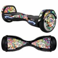 MightySkins RAHOV2-Wet Paint Skin Decal Wrap for Razor Hovertrax 2.0 Hover Board - Wet Paint