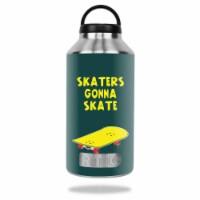MightySkins RTBOT64-Skaters Gonna Skate Skin for Rtic 64 oz Bottle 2016 - Skaters Gonna Skate