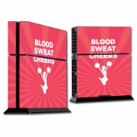 MightySkins SOPS4-Blood Sweat Cheers Skin for Sony Playstation PS4 Console - Blood Sweat Chee