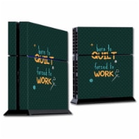 MightySkins SOPS4-Born To Quilt Skin for Sony Playstation PS4 Console - Born to Quilt - 1