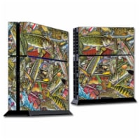 MightySkins SOPS4-Fish Puzzle Skin for Sony PS4 Console - Fish Puzzle