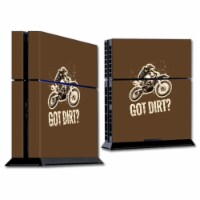 MightySkins SOPS4-Got Dirt Skin for Sony Playstation PS4 Console - Got Dirt - 1