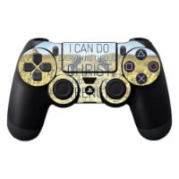 MightySkins SOPS4CO-Through Christ Skin Decal Wrap for Sony Playstation Dualshock PS4 Control