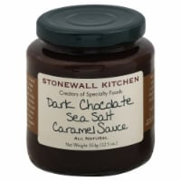 Stonewall Kitchen Dark Chocolate Sea Salt Caramel Sauce - 12.5 oz