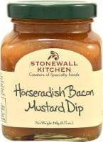 Stonewall Kitchen  Dip   Horseradish Bacon Mustard - 8.75 oz