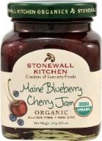 Stonewall Kitchen  Organic Gourmet Jam   Maine Blueberry Cherry