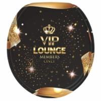 Sanilo 161 Round Soft Close Molded Wood Adjustable Toilet Seat, Gold VIP Lounge - 1 Piece
