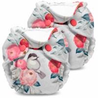 Kanga Care Lil Joey Newborn All in One AIO Cloth Diaper (2pk) Lily 4-12lbs - Newborn