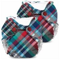 Kanga Care Lil Joey Newborn All in One AIO Cloth Diaper (2pk) Billy 4-12lbs - Newborn