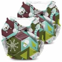Kanga Care Lil Joey Cloth Diaper (2pk) Frolic - Newborn