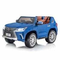 SUPERtrax Licensed Lexus LX570 Kids Ride On Toy Car w/Controller, Nightfall Mica - 1 Piece