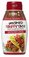 Kitchen Accomplice Original Taqueria Flavor Wicked Tasty Taco Sauce