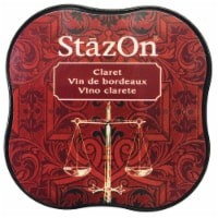 StazOn Midi Ink Pad-Claret - 1