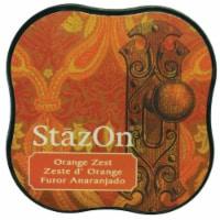 StazOn Midi Ink Pad-Orange Zest - 1