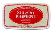 Tsukineko StazOn Pigment Ink Pad Passion Red - 1